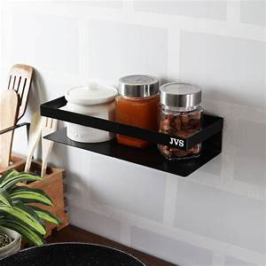 Multipurpose, Kitchen, Wall, Shelf, 10, U0026quot, In, Black, Color, Stainless, Steel, Buy, Multipurpose, Kitchen