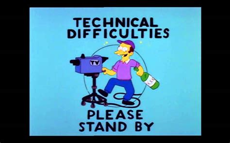 Define Stand By by Technical Difficulties Please Stand By Musical Youtube
