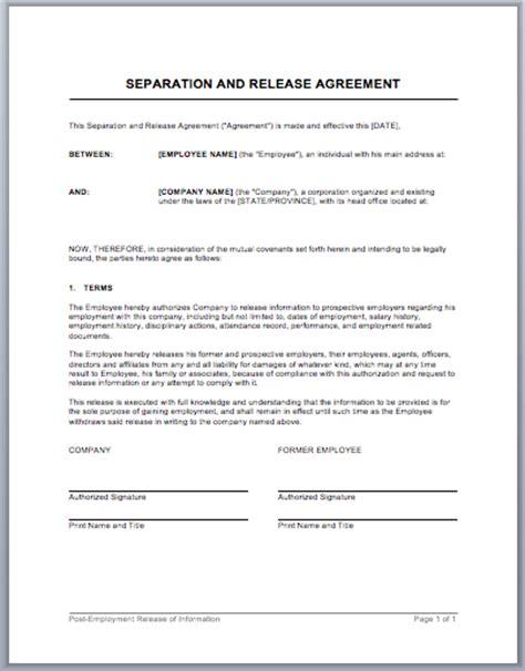 employment separation agreement templa gtld world congress