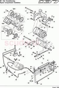 Aston Martin Db7  1995  Engine Compartment Installation Parts