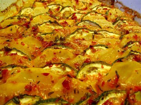 aufläufe mit kartoffeln kartoffel zucchini gratin ichzeigdirwiemanskocht