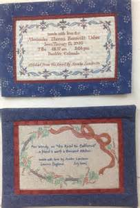 Personalized Quilt Labels Custom