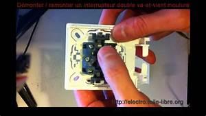 Double Va Et Vient : d monter remonter un interrupteur double va et vient ~ Nature-et-papiers.com Idées de Décoration