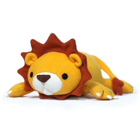 lucky lion stuffed animal sewing kit sewing project kits