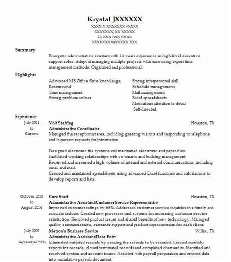 Coordinator Resume Objective by Administrative Coordinator Objectives Resume Objective