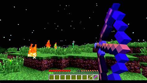 minecraft maxed bow enchantment youtube