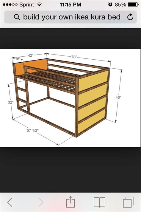 Size Loft Bed Ikea by Dimensions Of The Ikea Kura Bed Lit Kura