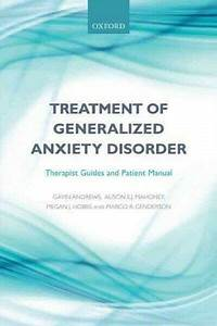 Treatment Of Generalized Anxiety Disorder   Therapist
