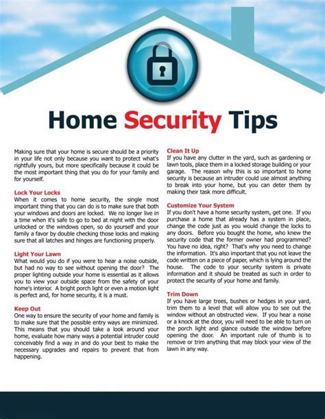 home security tips home security tips pinterest