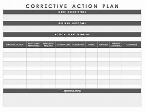 9  Printable Employee Action Plan Examples