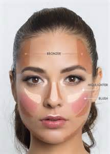 Where to Apply Bronzer and Highlighter
