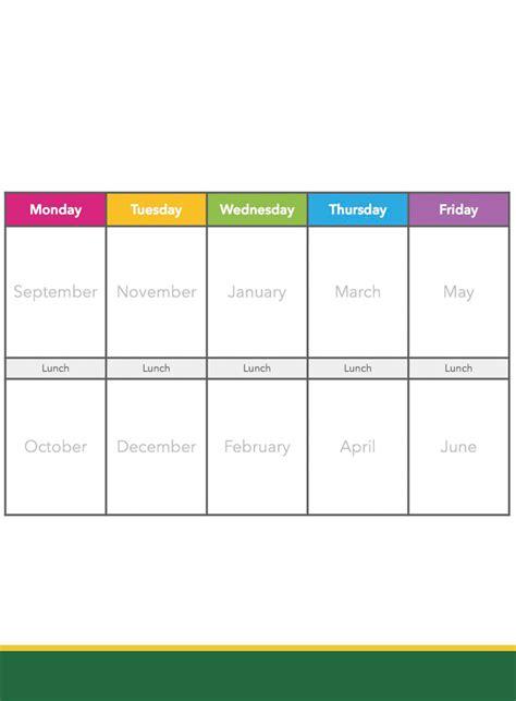 8+ Free Printable Weekly Calendar Templates in PDF ...