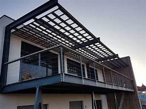 Terrasse Metallique Suspendue : terrasse metallique suspendue couverte m tallerie bas rhin ~ Dallasstarsshop.com Idées de Décoration