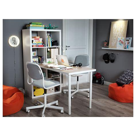 ikea chaise bureau enfant 214 rfj 196 ll chaise de bureau enfant blanc vissle gris clair ikea
