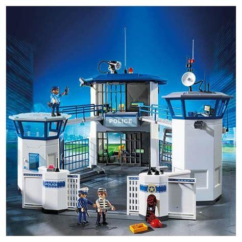 siège bébé pour portique 6919 commissariat de avec prison playmobil city