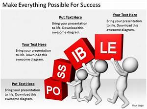 2413 Business Ppt Diagram Make Everything Possible For