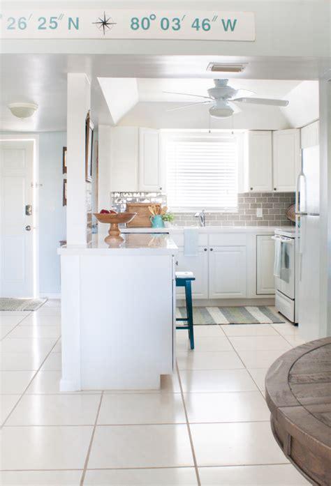 Beach Condo Kitchen Makeover  The Lilypad Cottage