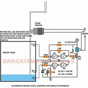 This Low Cost Water Level Controller Circuit When Built And Installed Will Very Efficiently