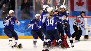 Team USA snaps Canada's streak, wins first Olympic women's ...