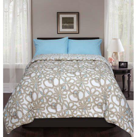 walmart bed comforters nico reversible bed in a bag bedding set walmart