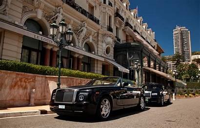 Monaco Casino Monte Carlo Square Rolls Cars