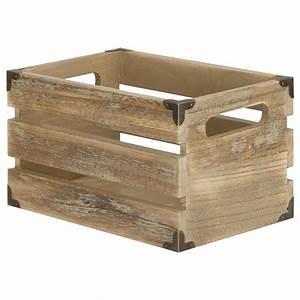 Petite Caisse En Bois : petite caisse en bois avec poign es salle de bain pinterest caisse bois bois et caisse ~ Teatrodelosmanantiales.com Idées de Décoration