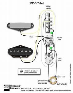 1953 Tele Wiring Diagram  Seymour Duncan
