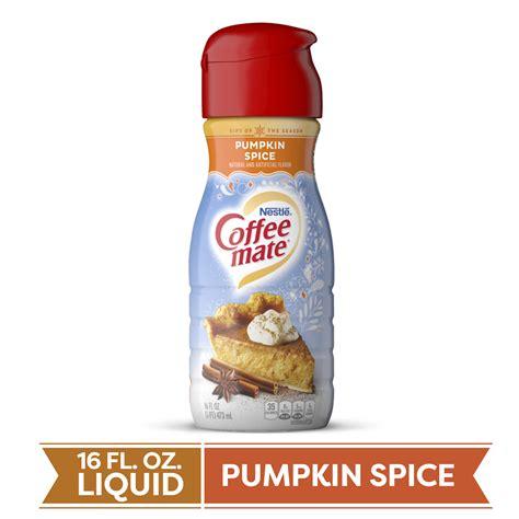 Homemade pumpkin spice coffee creamer! COFFEE MATE Pumpkin Spice Liquid Coffee Creamer 16 Fl. Oz. Bottle | Non-dairy, Lactose Free ...