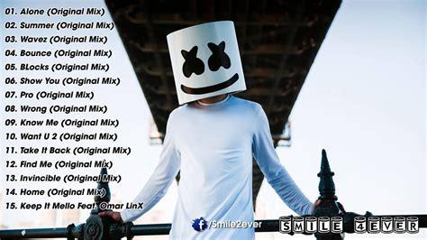 List Of Best Songs Marshmello Greatest Hits 2016 Best Songs Of Marshmello