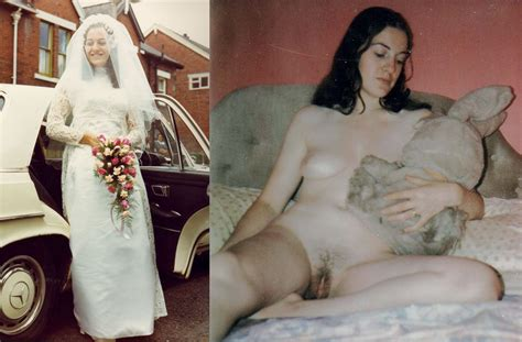 Clothed Then Unclothed Brides