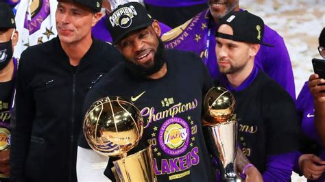LeBron named Finals MVP for fourth time | NBA News | Sky ...