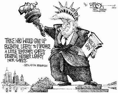 Ban Cartoons Trump Muslim Trumps