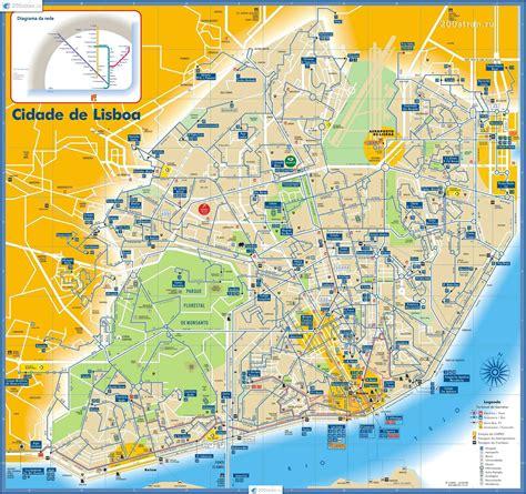 Lissabon Zentrum Karte