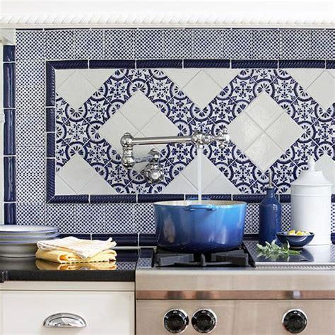 blue kitchen tiles ideas 46 best blue white tiled kitchen images on