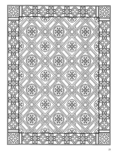 Decorative Books By Color by Dover Decorative Tile Coloring Book Zentangle Coloring