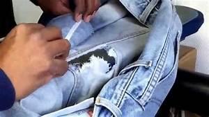 Comment Réparer Un Liner Déchiré : tuto comment r parer un jeans d chir youtube ~ Maxctalentgroup.com Avis de Voitures