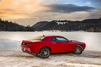 Playing in the snow   2017 Dodge Challenger GT First Drive ...