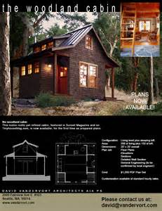 cottage blueprints the woodland cabin plans now available vandervort