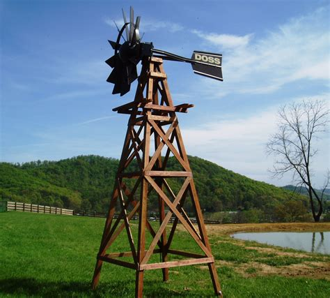 outdoor water solutions wood aeration windmill kit