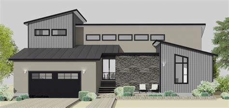 Semicustom Home Plans  61custom Modern Home Plans