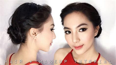 promgraduation makeup hairdo tutorial
