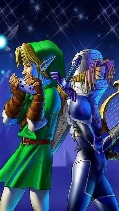 Iphone Zelda Wallpapers Nintendo Link Plus Loz