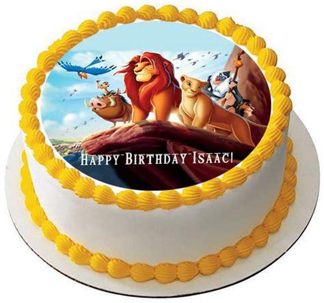 lion king  edible birthday cake  cupcake topper