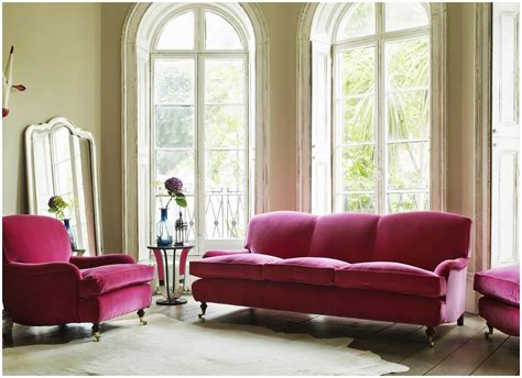Raspberry Living Room Accessories by Furniture Beautiful Velvet For Living Room