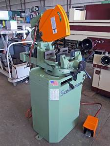 14 U0026quot  Cold Saw  Scotchman Bewo  Model Cpo