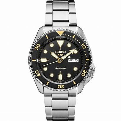 Seiko Dial Automatic Yellow Gents Sports Highlights