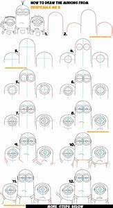 How to Draw the Minions from Despicable Me 3 Easy Step by ...