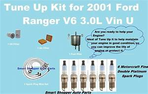 Tune Up Kit For 2001 Ford Ranger V6 3 0l Spark Plug Wire
