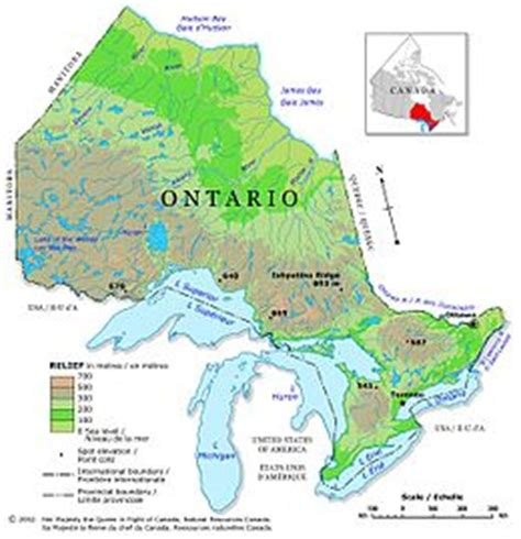 Geography of Ontario - Wikipedia