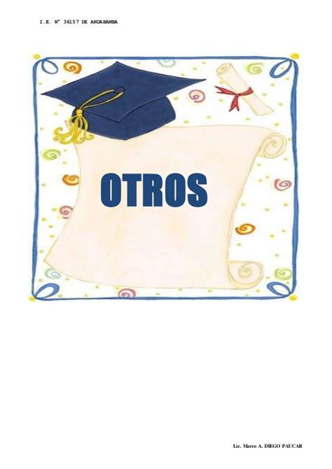 Carpeta Pedagogica Ie N° 36157 Andabamba